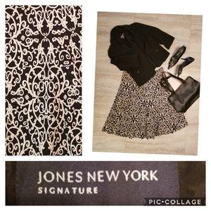 Jones New York print skirt